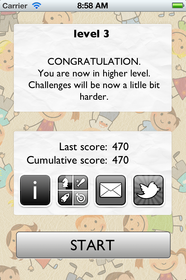 Screenshot 60 second maths challenge for kids